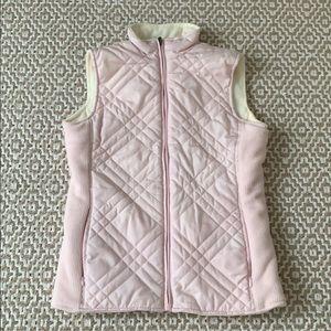 Pink /Cream Izod Woman's Reversible Vest BNWOT